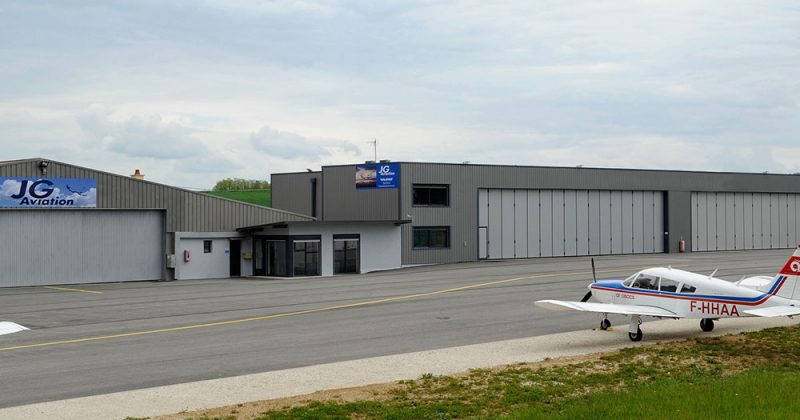 JGAviation hangar